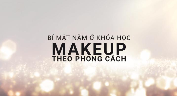 khóa học makeup theo phong cách