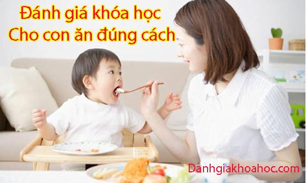 Đánh giá khóa học Cho con ăn đúng cách
