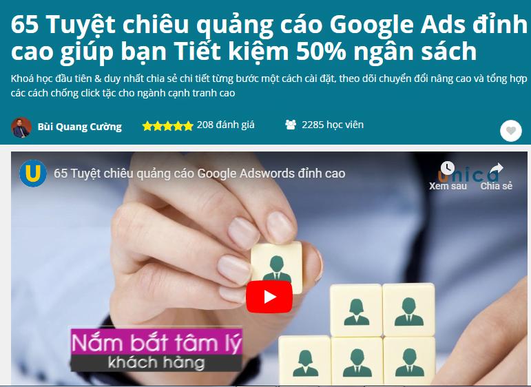 5 Tuyệt chiêu quảng cáo Google Ads đỉnh cao giúp bạn Tiết kiệm 50% ngân sách