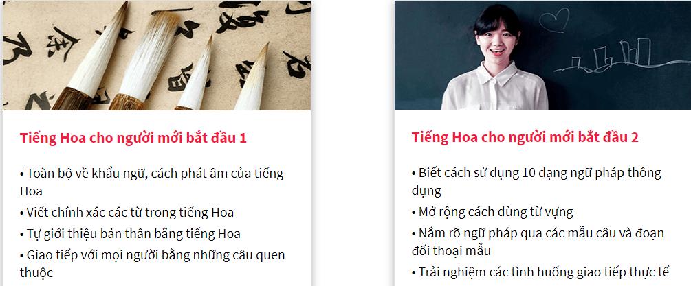 Đánh giá khóa học Tiếng Hoa cho người mới bắt đầu