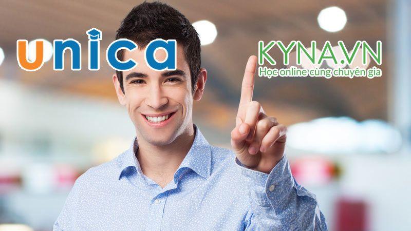 Nên học online tại Unica hay Kyna?