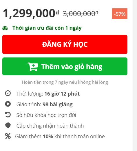 Đánh giá khóa học Money Counts Live - Xây dựng hệ thống kiếm tiền trên Internet