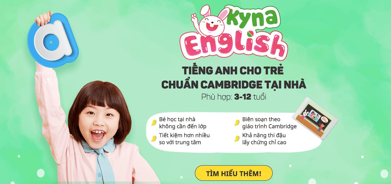 Học Tiếng Anh chuẩn Cambridge tại nhà - Một lựa chọn tuyệt vời cho trẻ