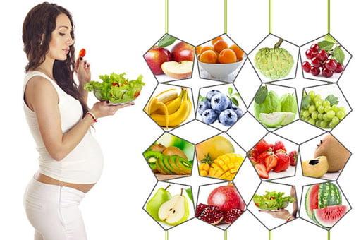 Nguyên tắc ăn uống cho mẹ bầu để vào con chứ không vào mẹ