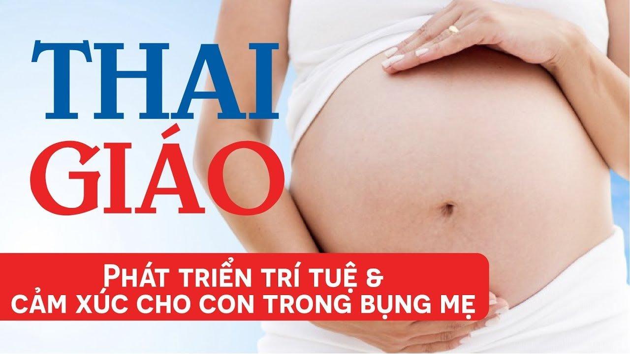 Review khóa học Thai giáo - Phát triển trí tuệ & cảm xúc cho con trong bụng mẹ