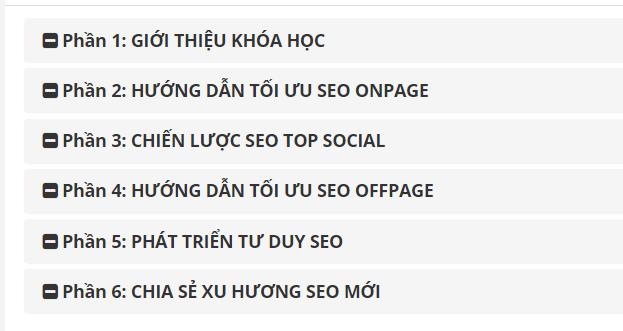 Review khóa học SEO Thực hành - TOP 1 Google trong 30 ngày