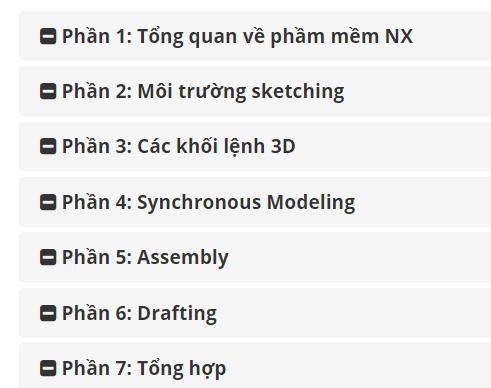 Thiết kế 3D cơ bản từ lý thuyết đến thực hành bằng phần mềm NX