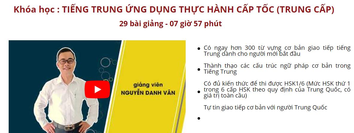 Trọn bộ tiếng Trung giao tiếp thực hành cấp tốc