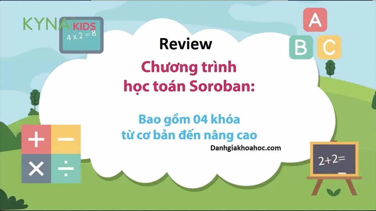 Review khóa học Toán Soroban của Kynaforkids