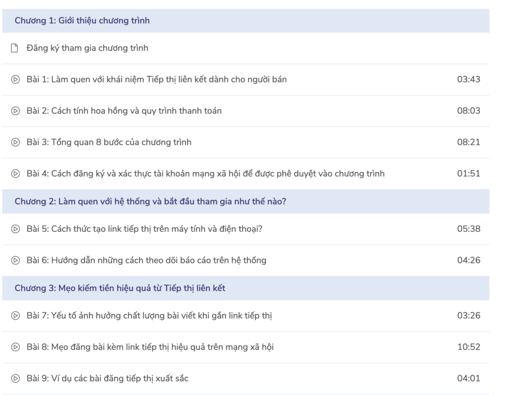 Review khóa học miễn phí Kiếm tiền với Affiliate marketing trên Shopee dành riêng cho Seller