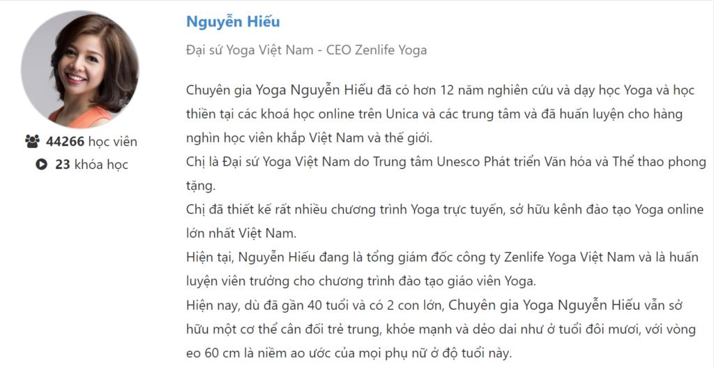 Review khóa học Tập Yoga cơ bản ngay tại nhà với Nguyễn Hiếu