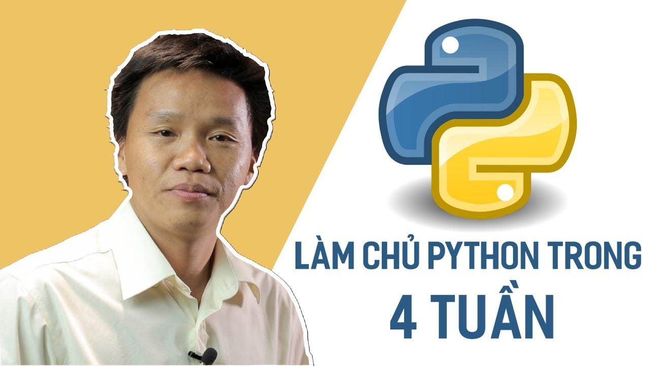 Review khóa học Làm chủ Python trong 4 tuần