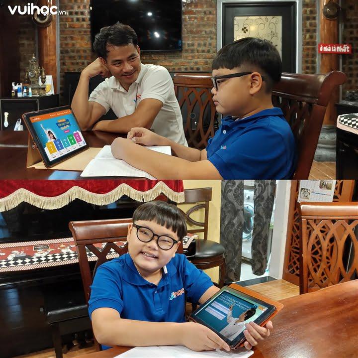 Vuihoc.vn được nhiều phụ huynh lựa chọn và đánh giá cao